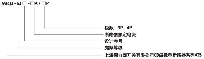 上海德力西双电源自动转换开关dcq3